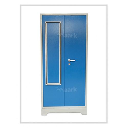 Ultima Steel Two Door Wardrobe