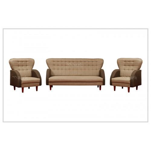 Vintage Comfy Fabric Sofa