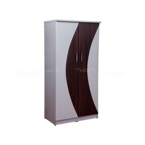 Premium Wooden Two Door Wardrobe