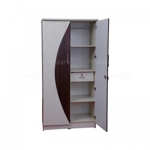 Premium Wooden Two Door Wardrobe