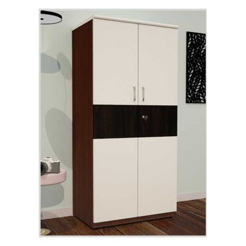 Wooden Two Premium Wardrobe