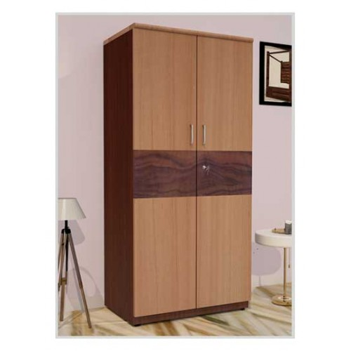 PF Premium Wooden Two Door Wardrobe