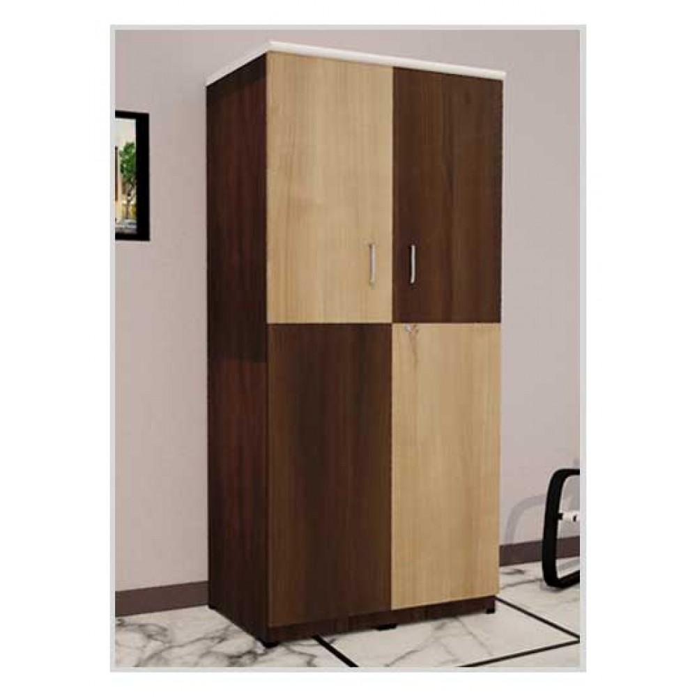 Double Shade Wooden Wardrobe