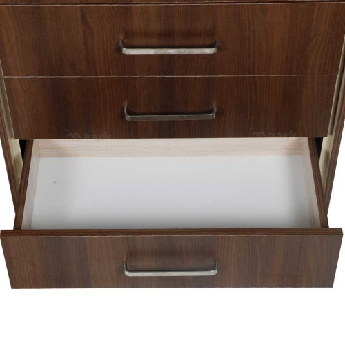WOODEN CHEST OF DRAWER IN ACACIA COLOR