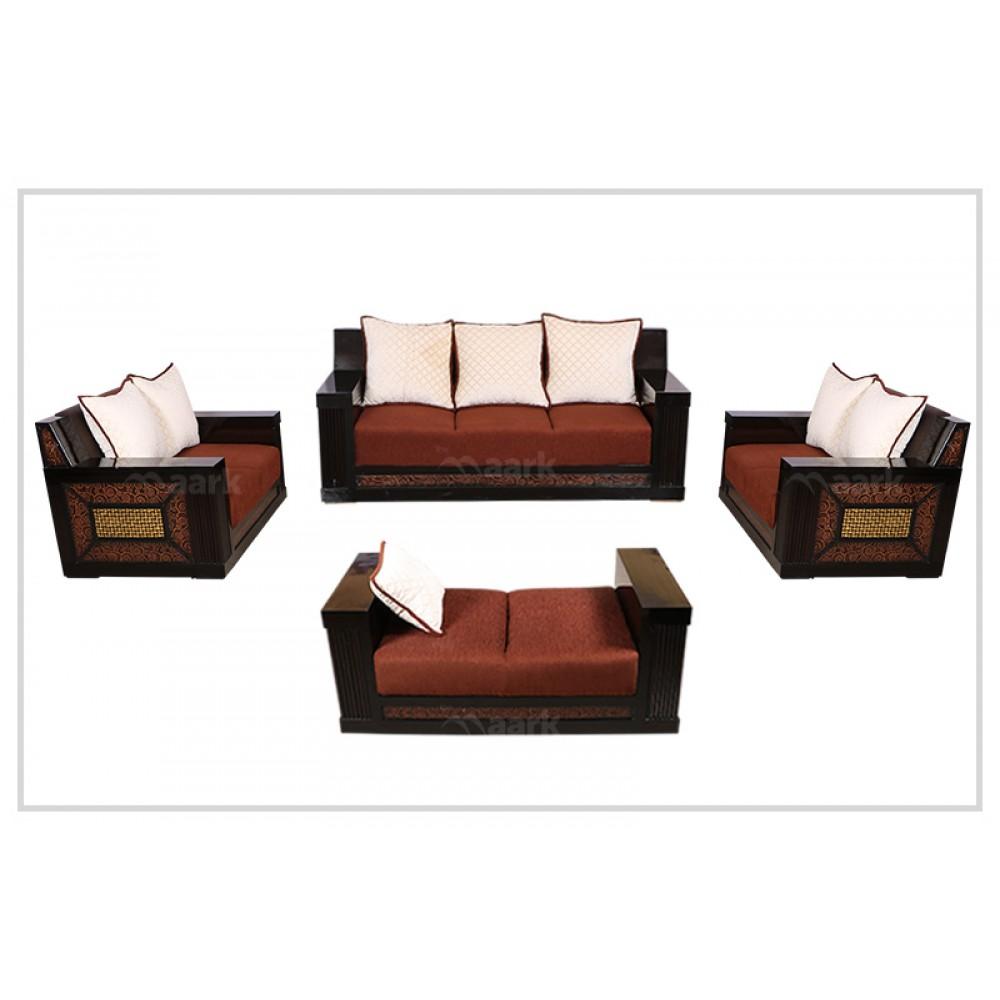 Woody Fabric Sofa 3+2+2+Shetty