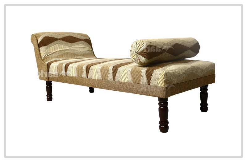 Plain Fabric Wooden Divan Sofa Bed