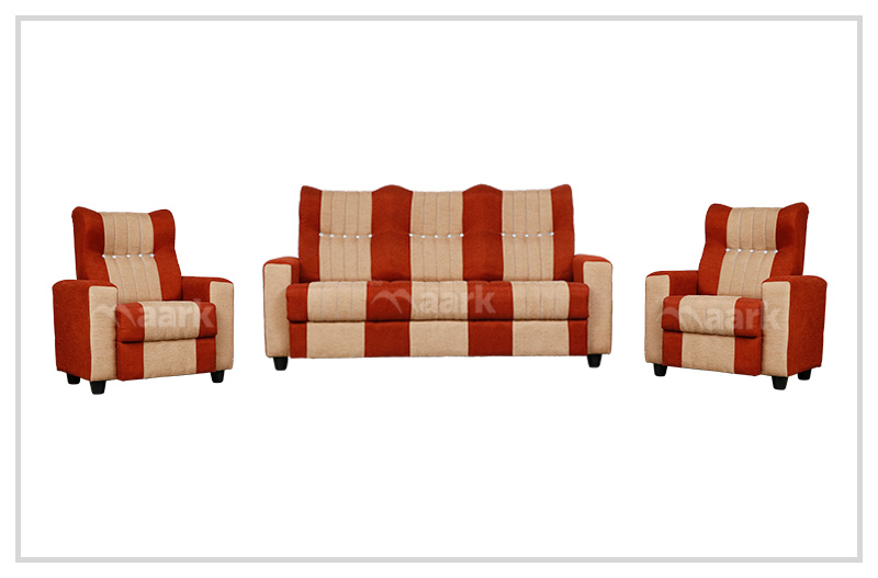 Renu High Back Fabric Sofa 3+1+1