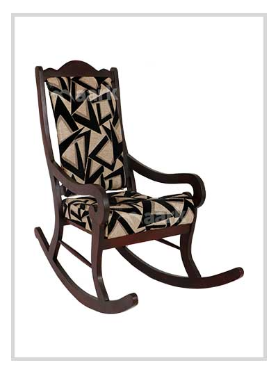 Elegant Wooden Rocking Chair