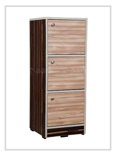 3 DR Wooden Chest of Drawer