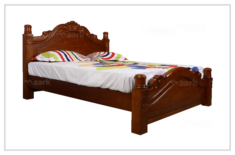 Wooden HT king Cot