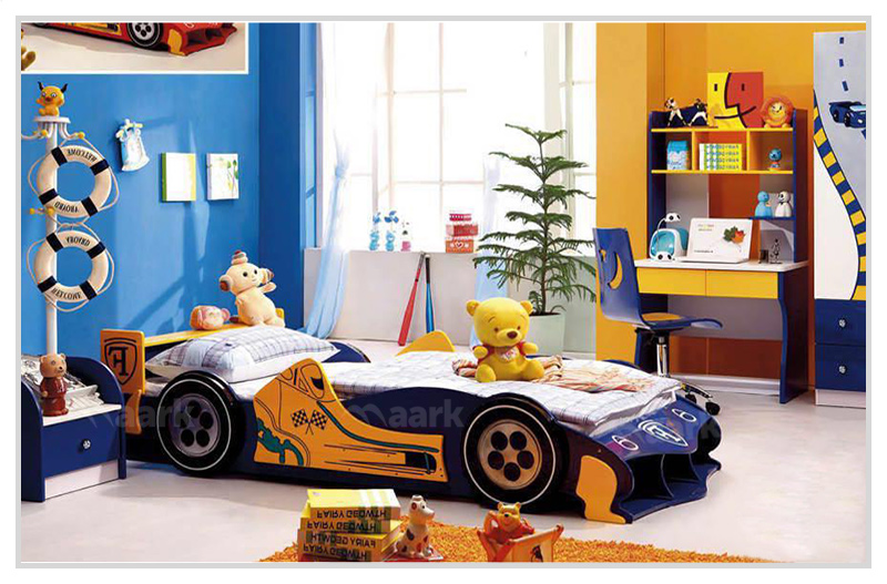 Car Shaped Kids Cot