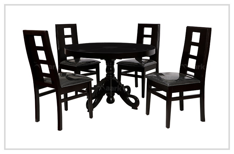 EF Rubber Wooden Dining Table