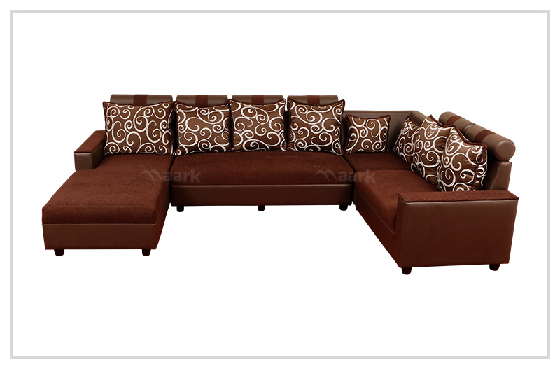 Magameru Fabric Corner with Divan Sofa