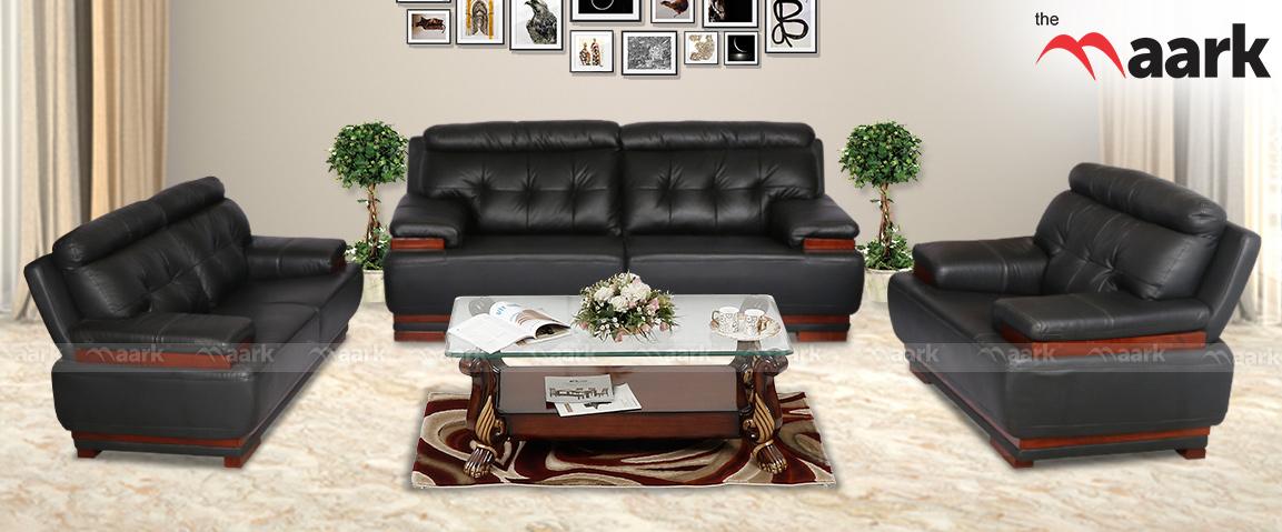 Cesna Leather Sofa