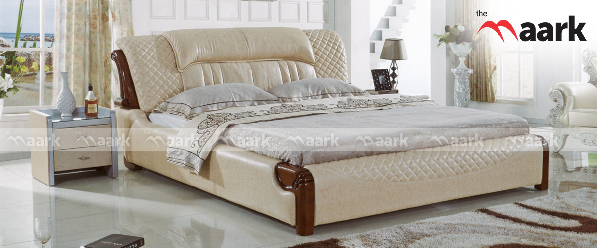 Trissino Leather Bed / Cot