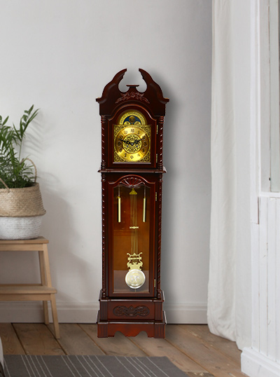 Ancient Designed Standing Clock