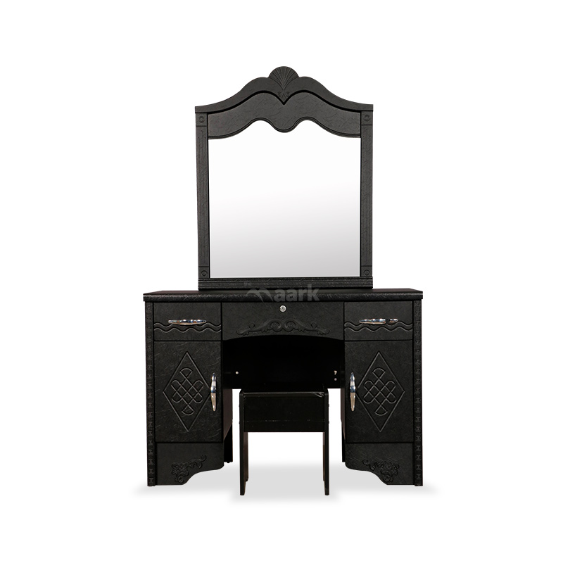 Black Designed Dressing Table