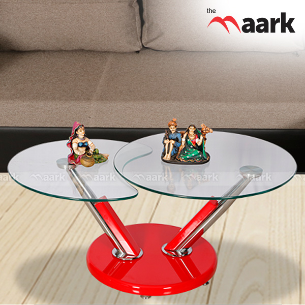 Double Open Center Table