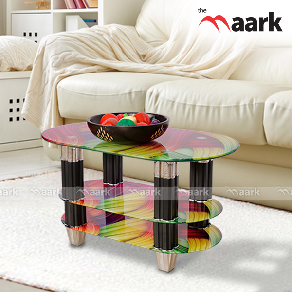 Glass Designed Center Table