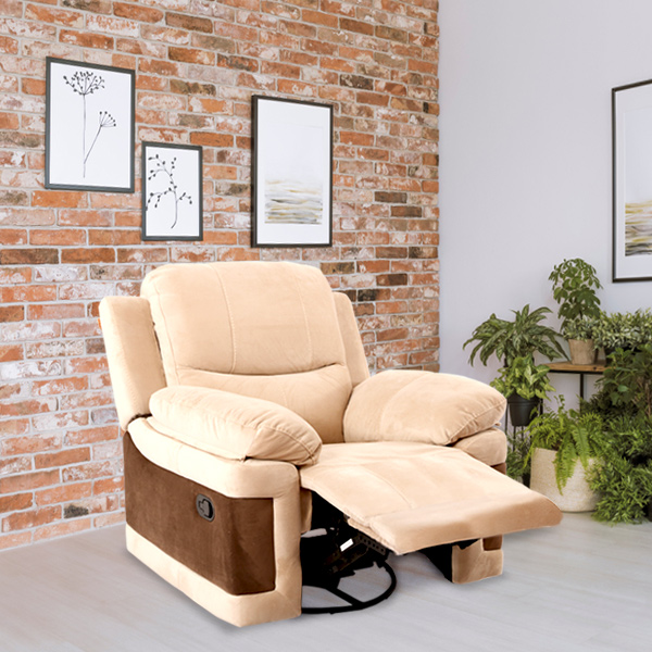 Rich Soft Manual Recliner Sofa