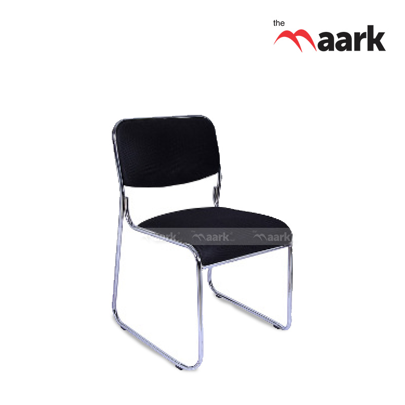 Black Color Visitors Chairs-Comfort