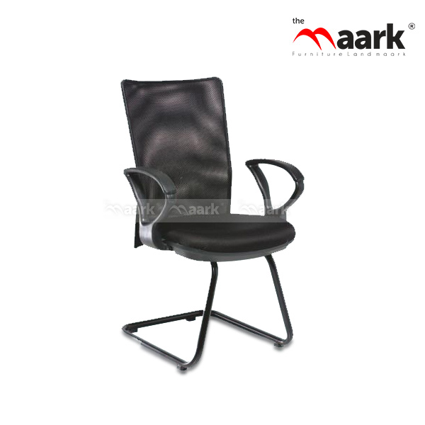Ebony Black Visitor Chairs