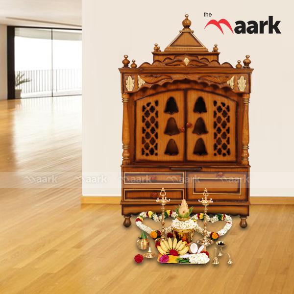 Pooja Stand Designs With Price : Buy pooja racks pooja racks prayer unit wooden mandir