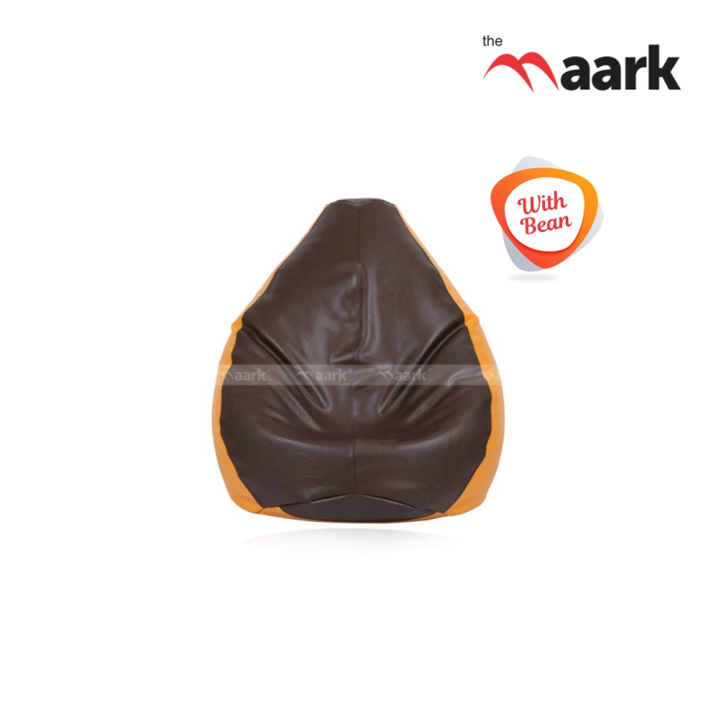 Bean Bag-Brown With Mango Basic-XL