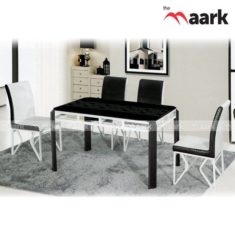 The Maark Rich White And Black Dining