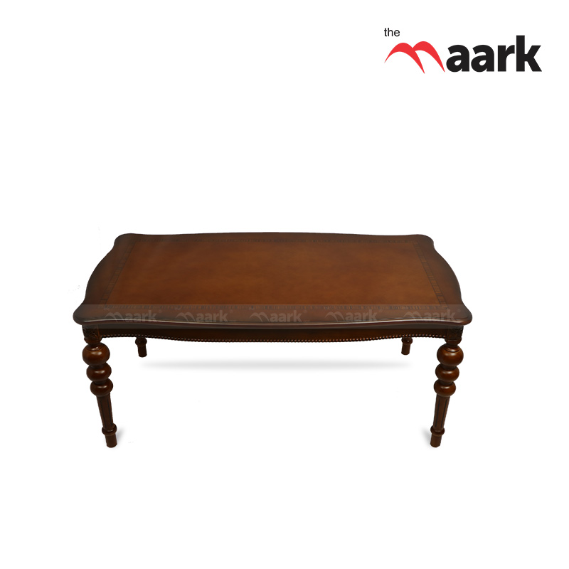 The Maark Six Seater Wooden Dining Table