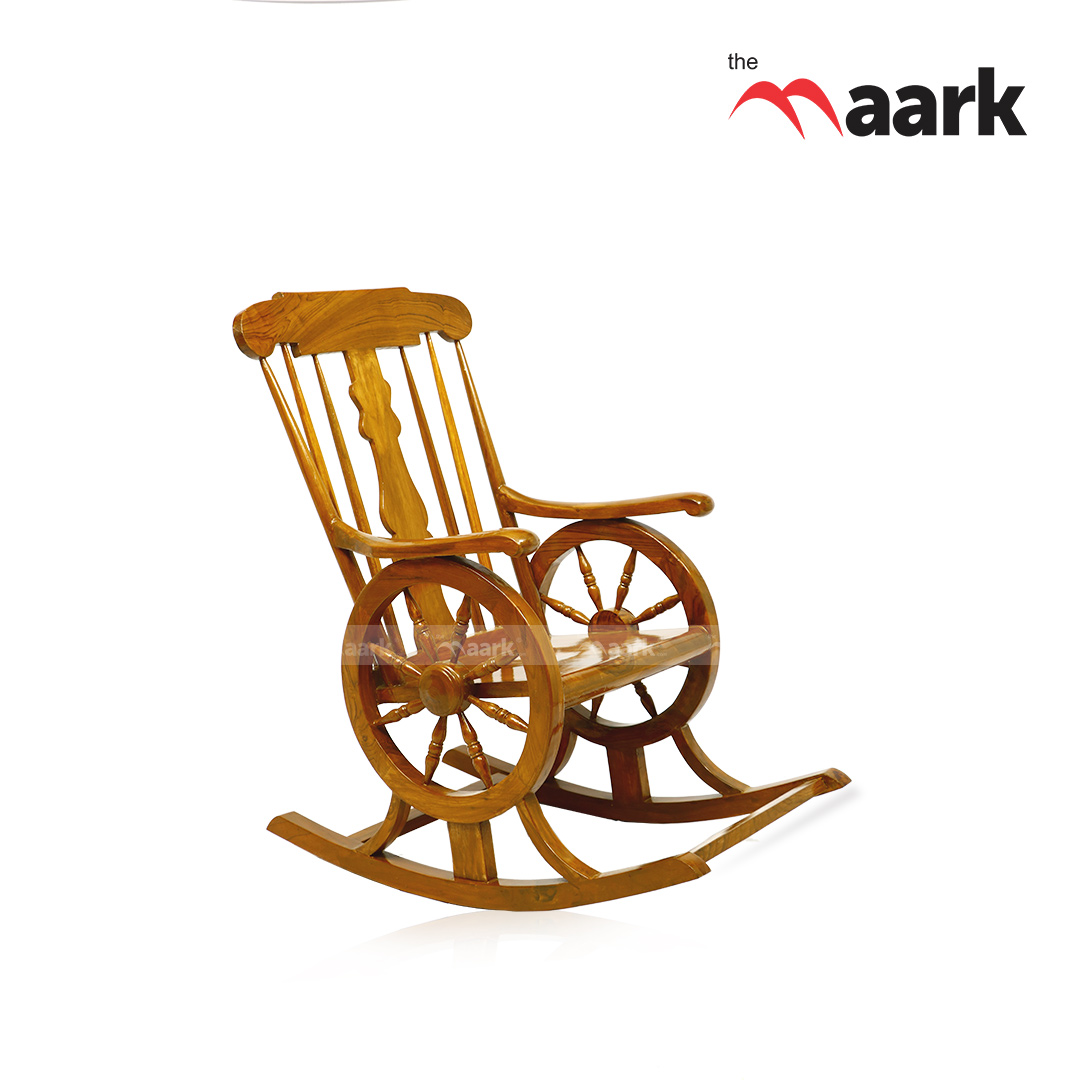 Wheel Rocking Chair