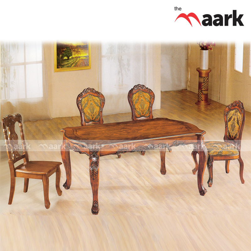 The Maark Treditional Wooden Dining