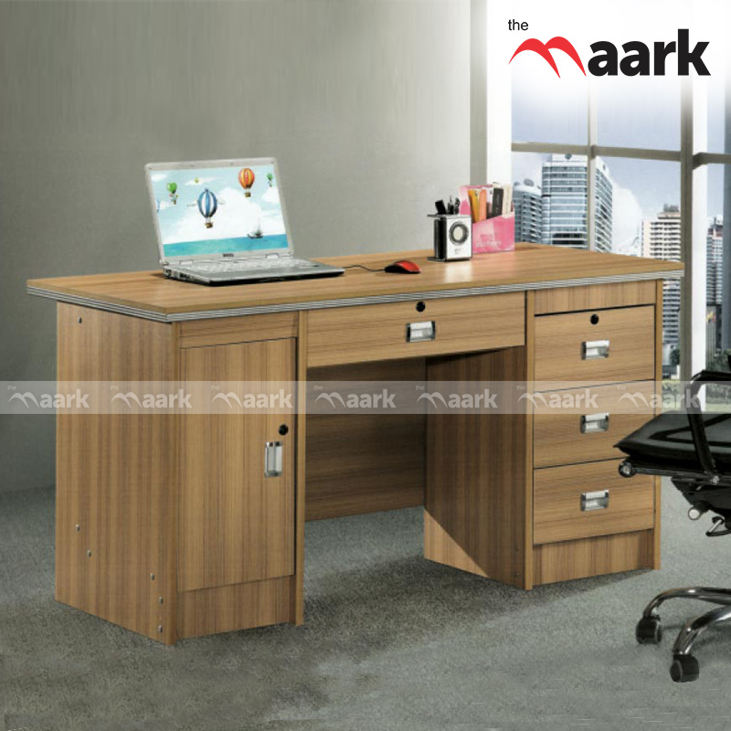Plain Softy Executive Wooden Table