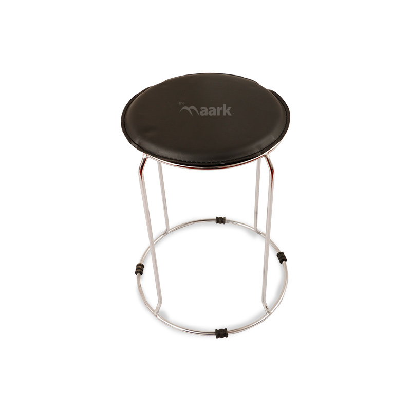Kalaya Steel Stool In Black