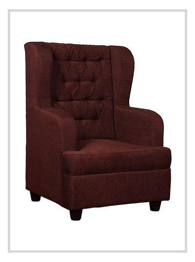 Royal Single Seater Fabric Sofa