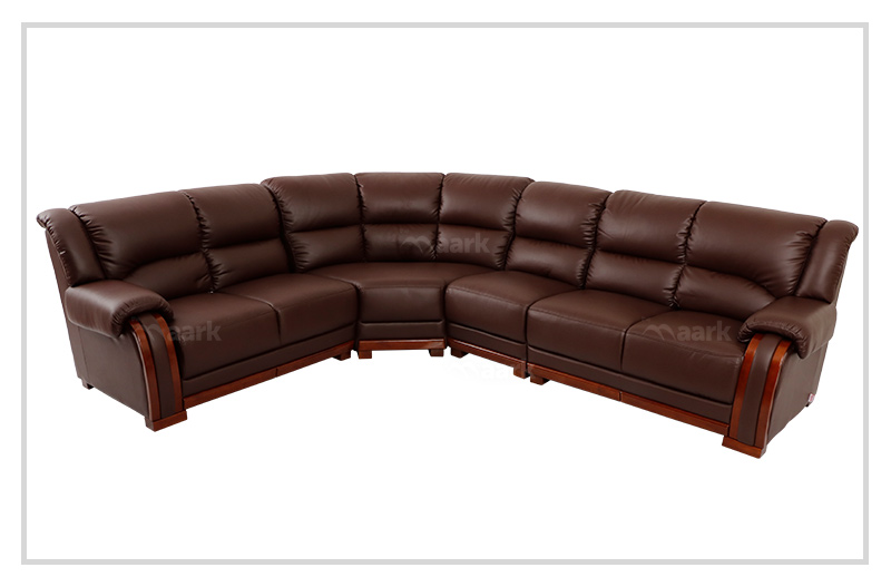 Clara Leatherette Corner Sofa Set