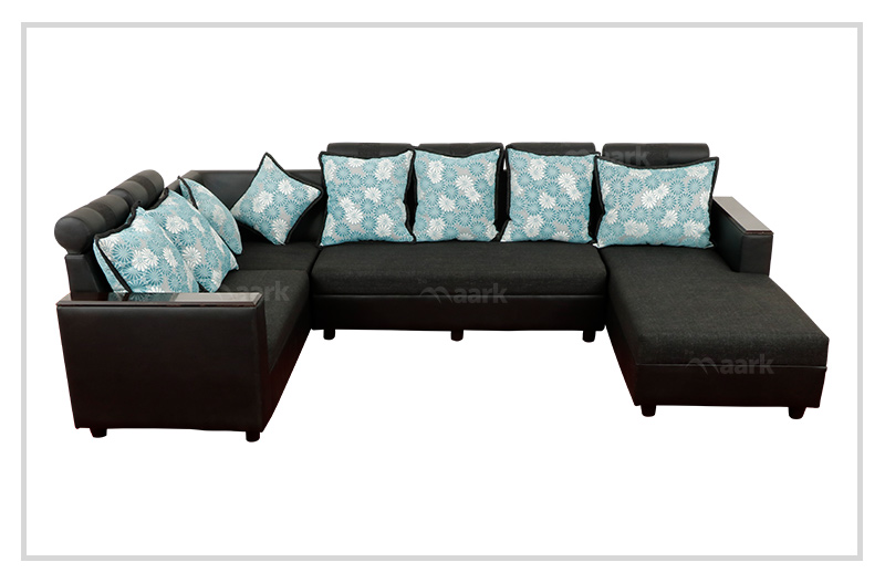 Magameru Fabric Corner Sofa with Divan