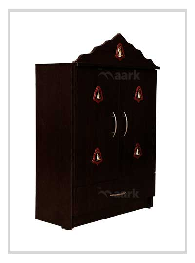 Two Door Pooja Rack