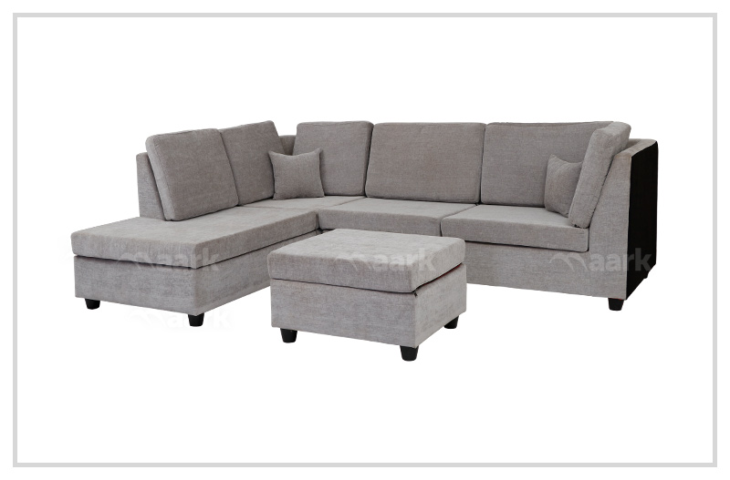 Villis Fabric Corner Sofa