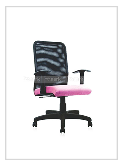 Accent Pink Color Seater MD Chair