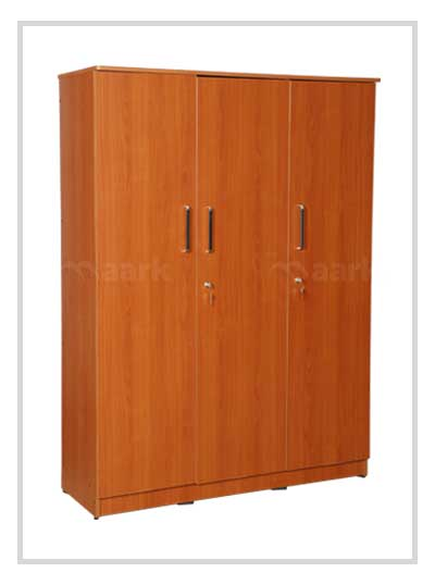 Akron 3 DR Plain Edge Wardrobe