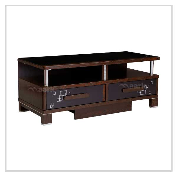 Modern Wooden Bottom TV Unit
