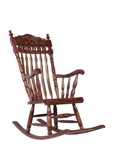 CARVING ROCKING CHAIR