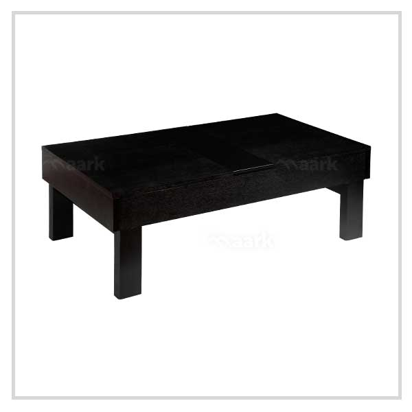Storage Center Table in Black Color