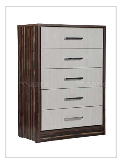 Chest of Drawer with Double Shade