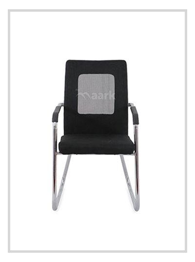 Designer Black Visitor Chair
