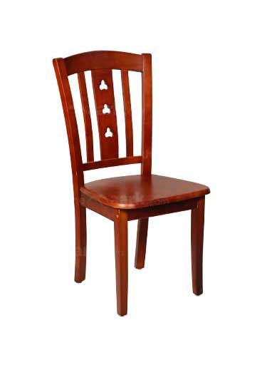 DINING CHAIR DARK MAROON COLOR