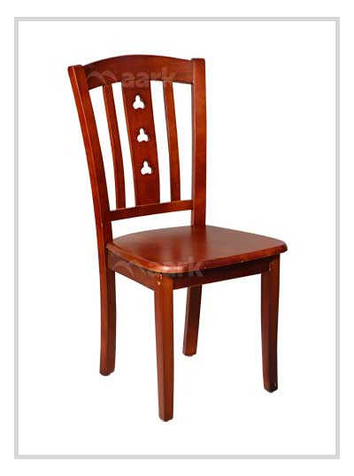 Wooden Dining Chair in Brown Color