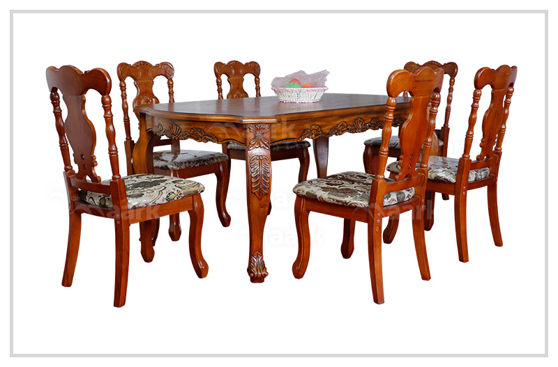 Wooden Art Designed Dining Table