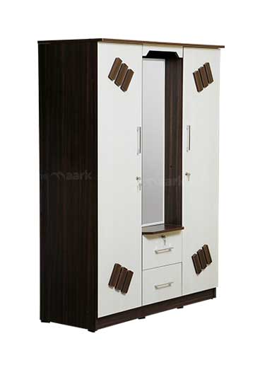 DISHA THREE DOOR WARDROBE